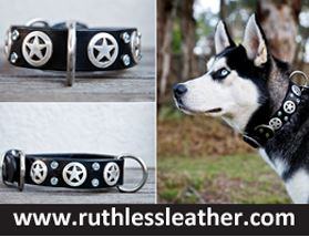 Ruthless Leather - Collars & Leads for Strong Dogs